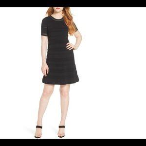 Last price drop-Chelsea28-Pointelle Sweater Dress